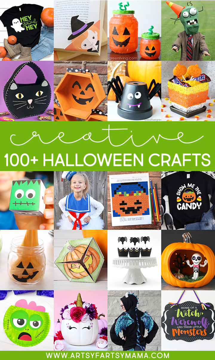 100+ Creative Halloween Crafts