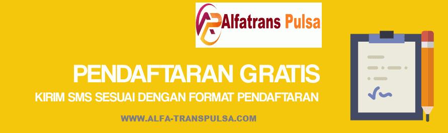 Cara Daftar Master Dealer Alfatrans Pulsa