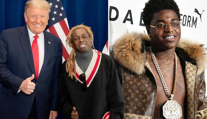Trump Pardons Rappers Lil Wayne, Kodak Black Last-minute In Office