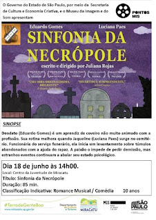 """Prefeitura de Miracatu e Pontos MIS exibe o filme """"Sinfonia da Necrópole"""""""
