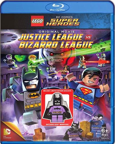 Lego DC Comics Super Heroes: Justice League Vs. Bizarro [2015] [BD25] [Latino]