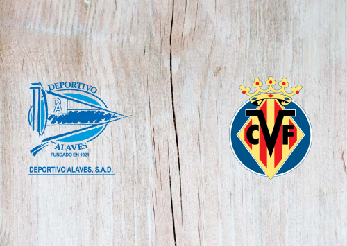 Deportivo Alavés vs Villarreal -Highlights 25 January 2020