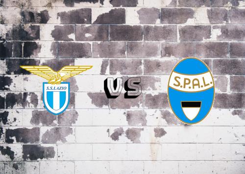 Lazio vs SPAL  Resumen