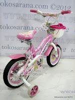 4 Sepeda Anak United Pretty Girl Rangka Aluminium Alloy 12 Inci