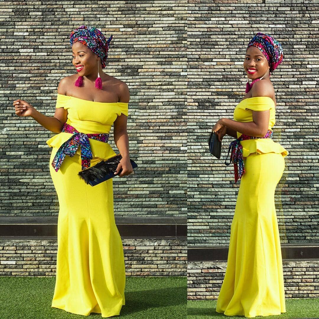 2b98f3d01d3 Trending #Ankara Styles 2018: Stunningly Gorgeous #Ankara Skirt And Blouse  Styles For The Divas