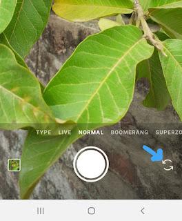 Flip camera normal mode