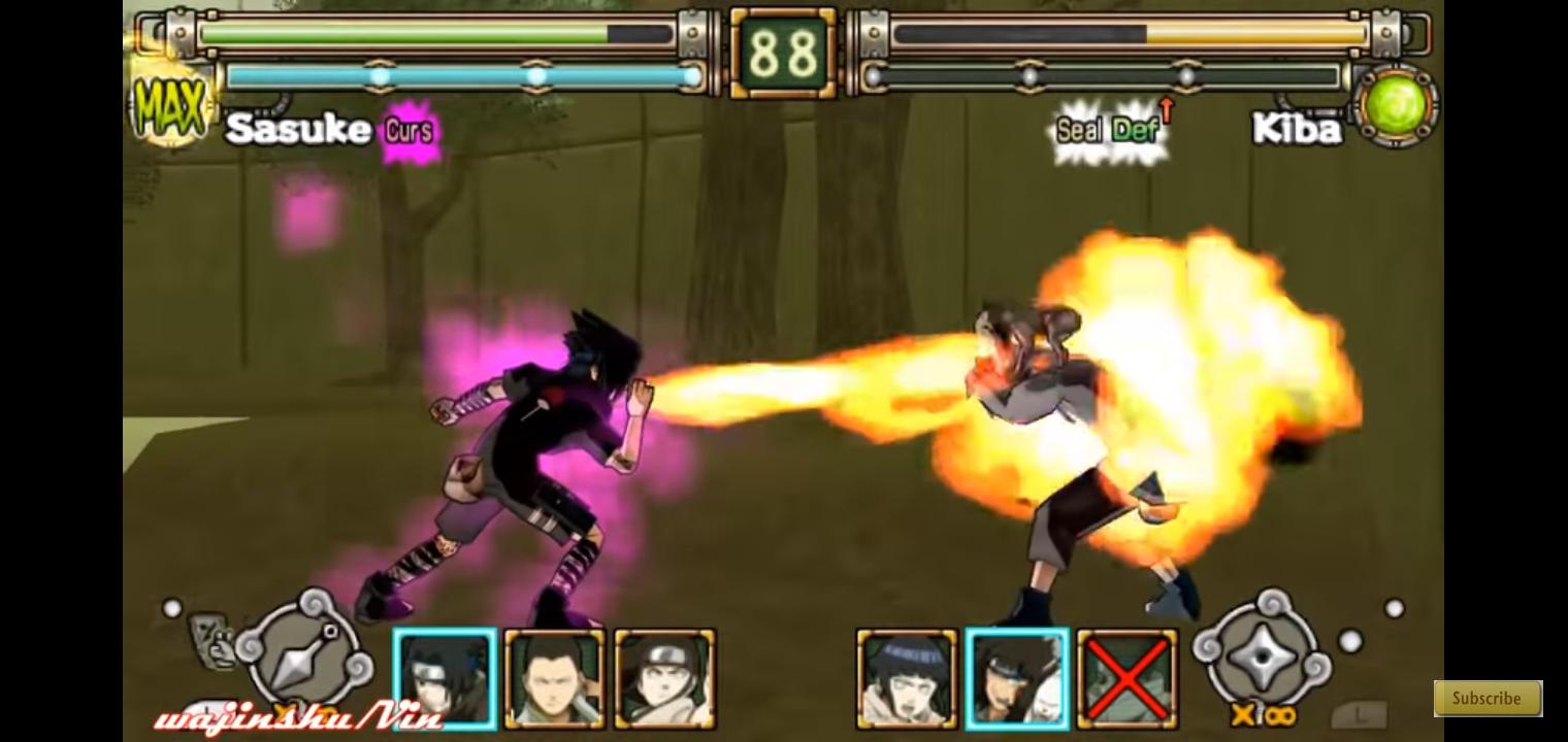 Naruto Ultimate Ninja Heroes (PSP ISO) Free Download