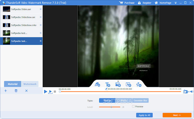 ThunderSoft Video Watermark Remove - Xóa Logo Tạo Hình Mờ Đơn Giản Và Hiệu Quả Nhất 2018
