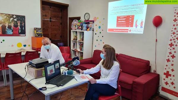 Cruz Roja en La Palma atiende a más de 4.000 personas a través de todos sus proyectos y servicios