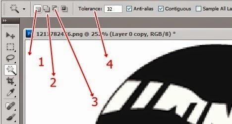 Cara Menggunakan Magic Wand Tool Pada Photoshop Psd48