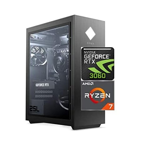 2021 Newest HP OMEN 25L Gaming Desktop PC