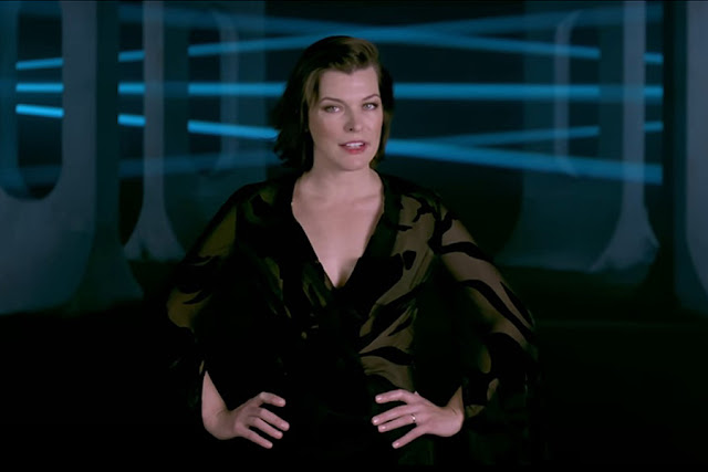 Resident Evil The Final Chapter Rewind Milla Jovovich