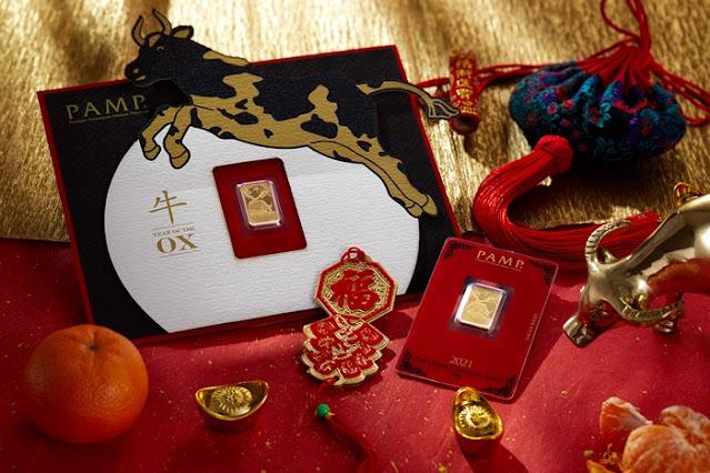 HABIB 2021 Auspicious Bloom Collection, Habib Jewel, Jewelry, Gold, Oro Italia 916, Abacus, Habib Gold Wafer Coin, Habib CNY Collection, Fashion