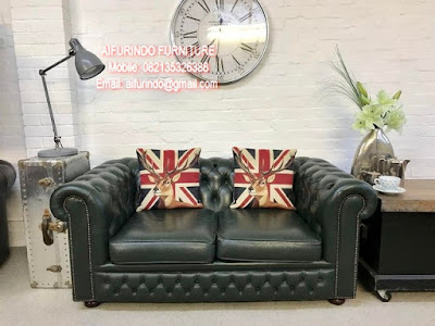 AMERICAN SOFA CHESTERFIELD,CLASSIC FRENCH FURNITURE INDONESIA