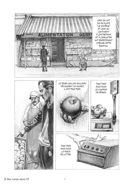 Léa ne se souvient pas comment fonctionne l'aspirateur de Eric Corbeyran et Gwangjo aux éditions Des ronds dans l'O page 5