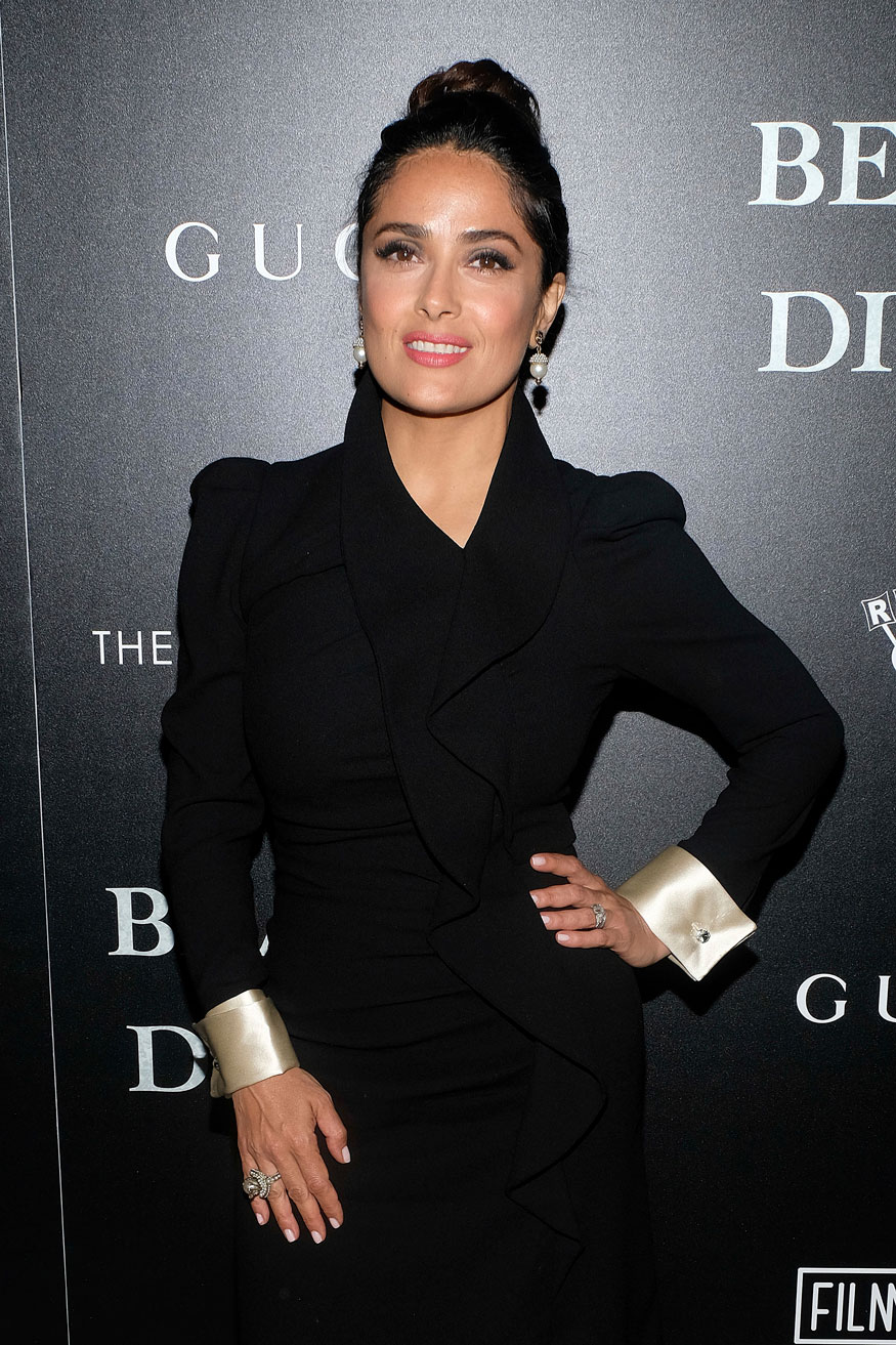 Salma Hayek Attends a Beatriz at Dinner Screening in New York