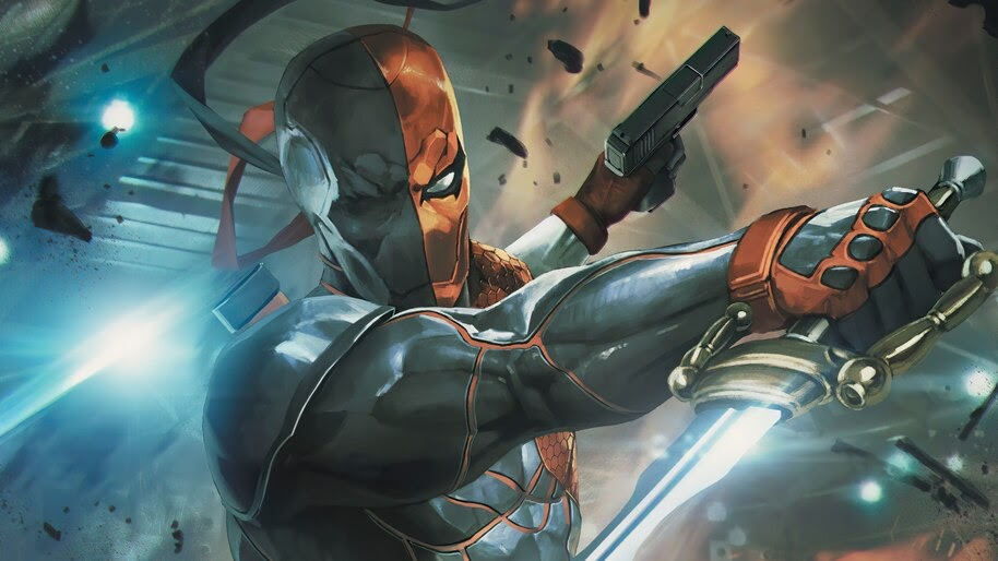Deathstroke, Sword, DC, Comics, Art, 4K, #6.2078