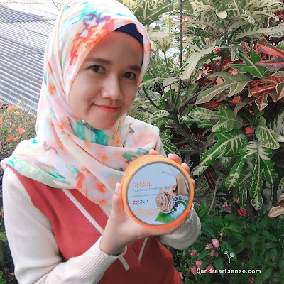 Review SNP Snail Intensive Soothing Gel