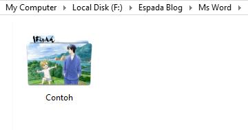 Cara Simple Memberi Icon di Folder dengan Gambar 17