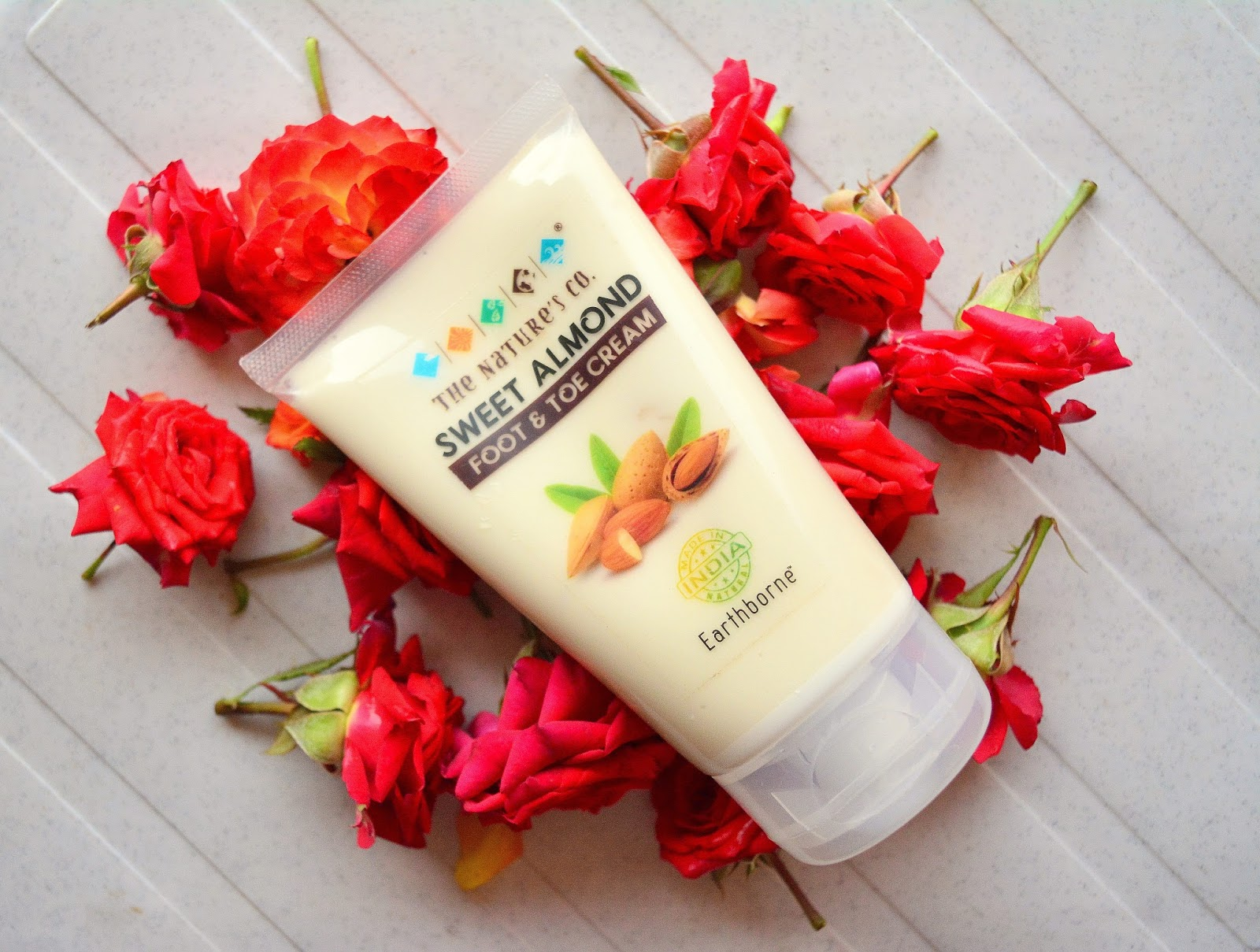 The Nature's Co. Sweet Almond Foot & Toe Cream Review, Price, Details