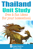 This Thailand unit study is packed with activities, crafts, book lists, and recipes for kids of all ages! Make learning about Thailand in your homeschool even more fun with these free ideas and resources. #Thailand #Thai #homeschool