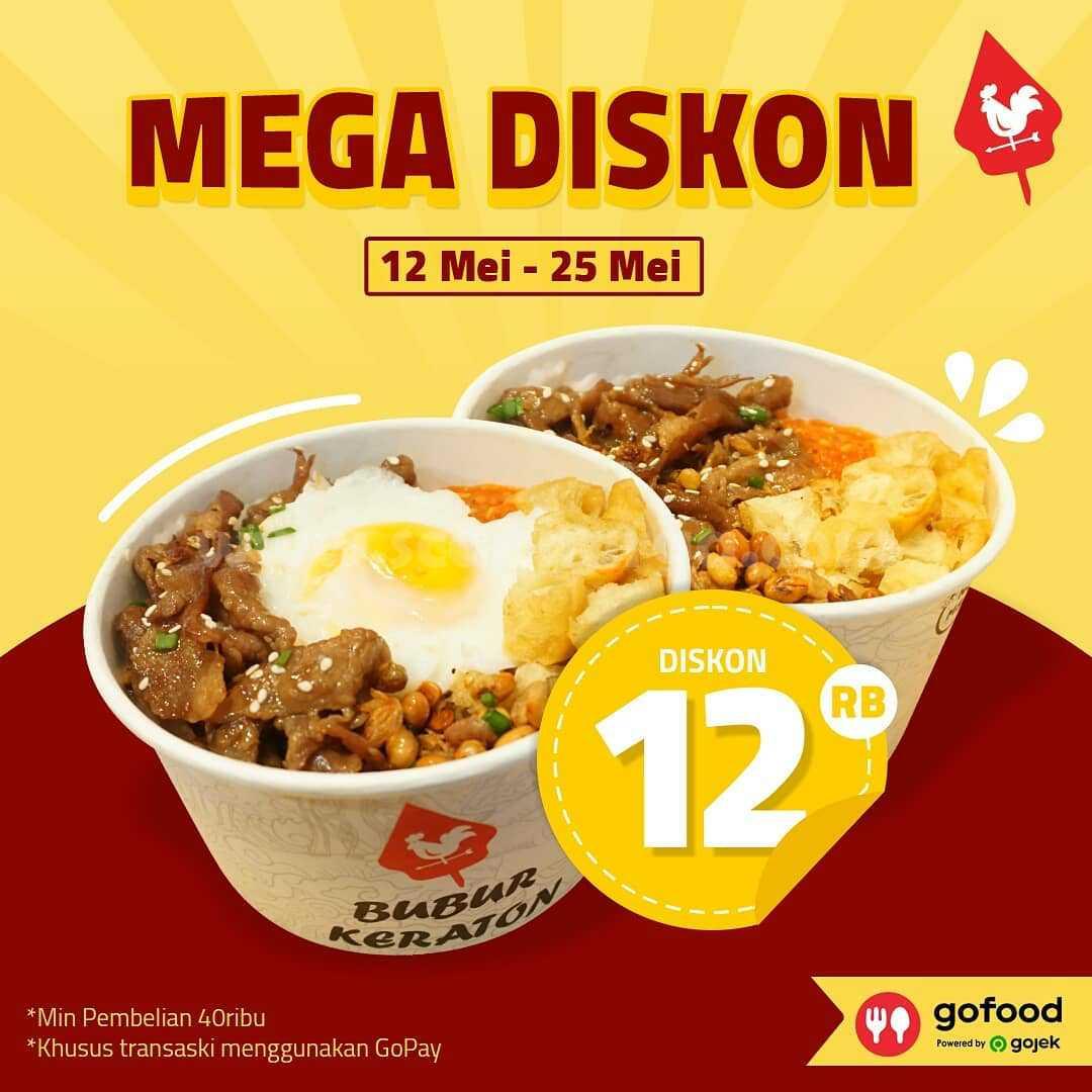 Promo Bubur Keraton Mega Diskon hingga Rp 12.000 melalui Gofood