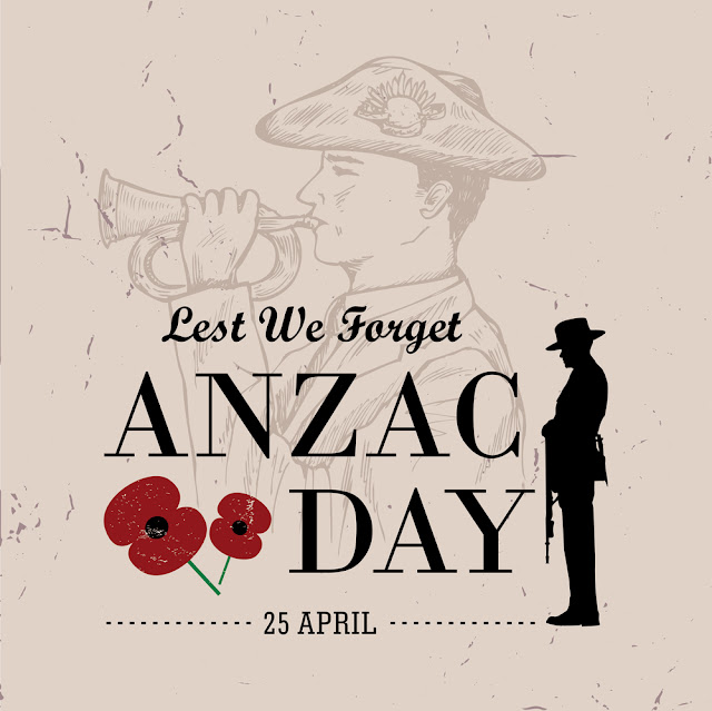 anzac day lest we forget 2017