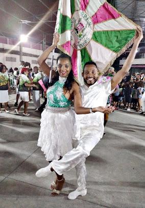 Mauro Lima e Michelle Rocha são os novos defensores do 1º pavilhão da Manguinhos