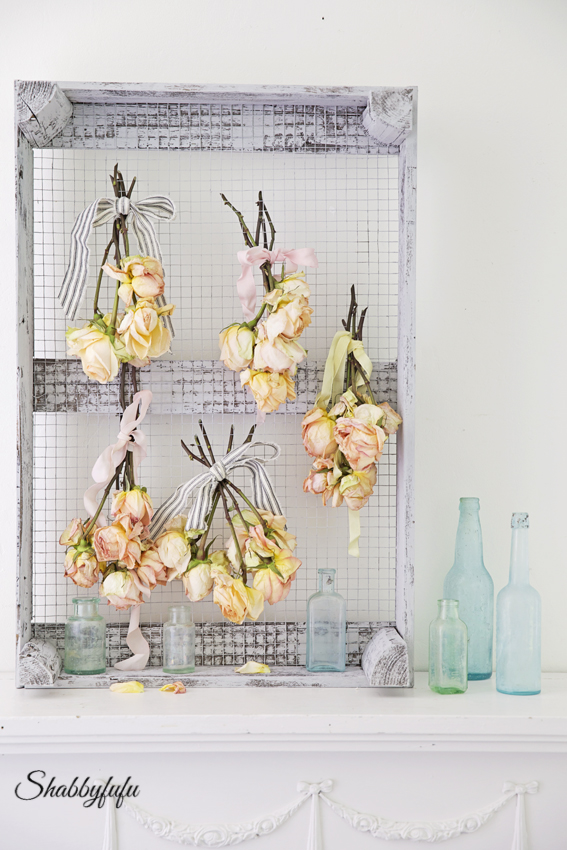 French drying rack for flowers
