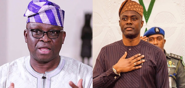 Politics: Fayose Warns Makinde To Disrespecting Him, Threatens To Work Against Him