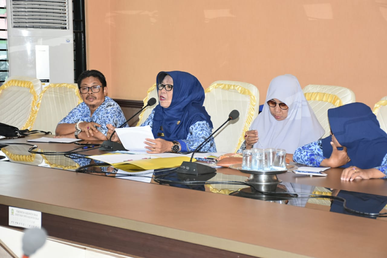 Optimalkan Pengembangan Kampung KB, DP3AP2KB Sinjai Gelar Rapat Kerja Bersama DPRD
