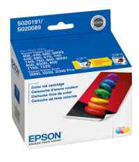 Epson Stylus Scan 2500 Pro Printer Ink Color