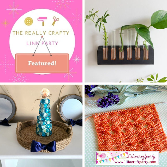 The Really Crafty Link Party #265 featured posts