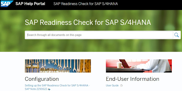 SAP Readiness Check for SAP S/4HANA