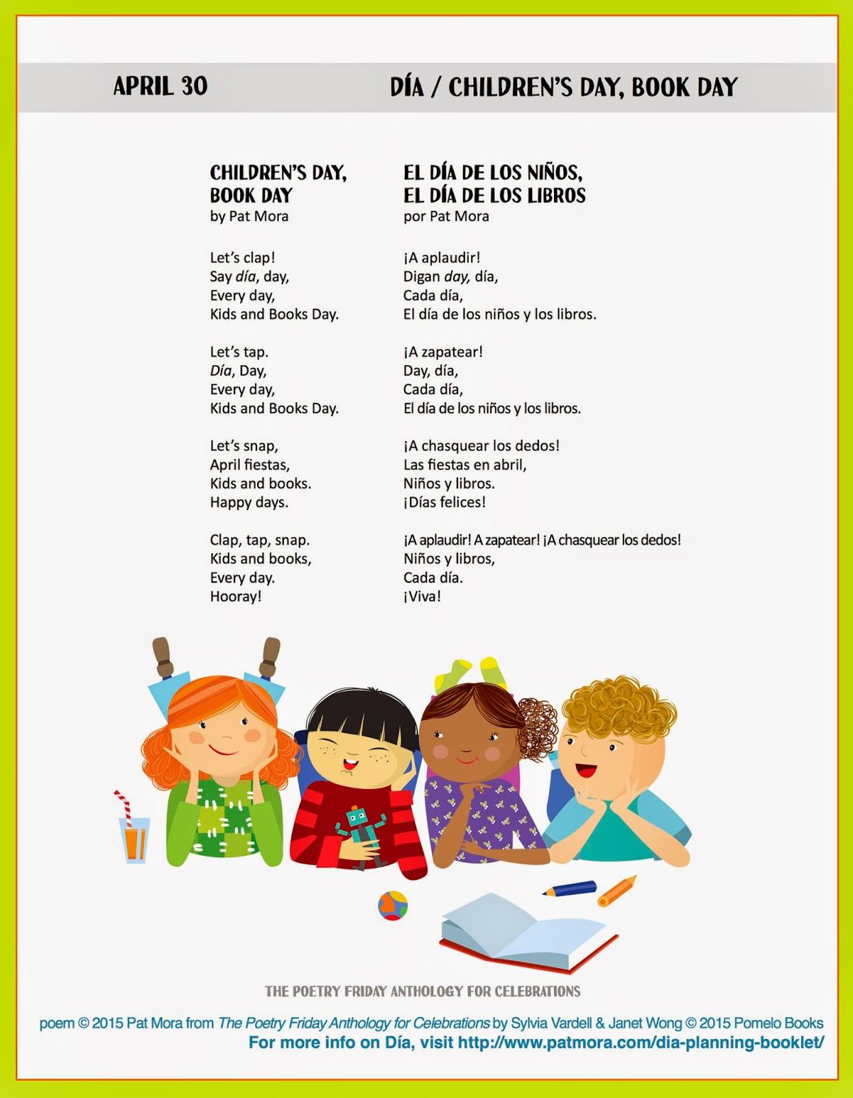 Poetry For Children April 30 Celebrating Children S Day