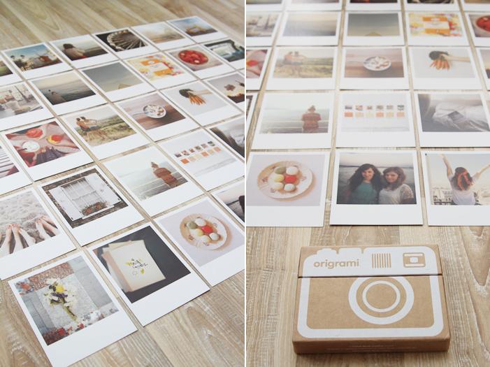 originelle idee instagram origrami photo idea magnoliaelectric. Black Bedroom Furniture Sets. Home Design Ideas