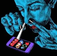 Imágenes satíricas sobre las redes sociales y la tecnología