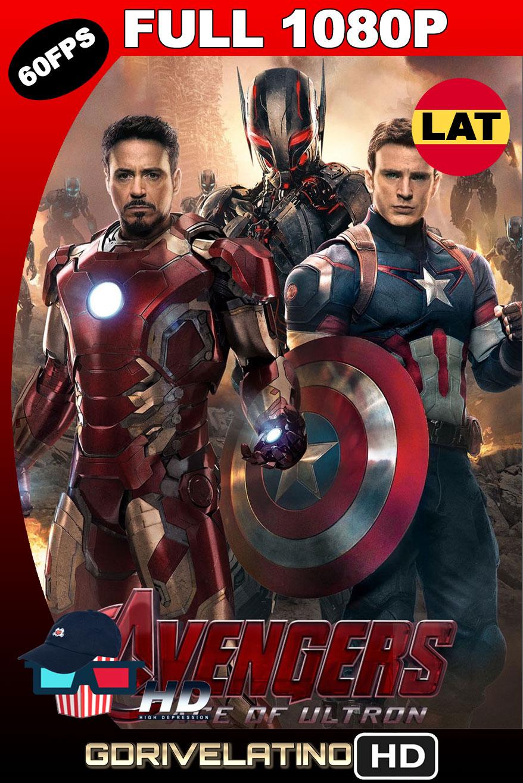 Vengadores: La era de Ultrón (2015) BDRip 1080p (60 FPS) Latino-Ingles MKV