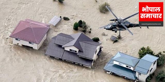 JAPAN STORM: 73 लाख लोग प्रभावित, 1000 से ज्यादा विमान फंसे, कई शहरों में तबाही