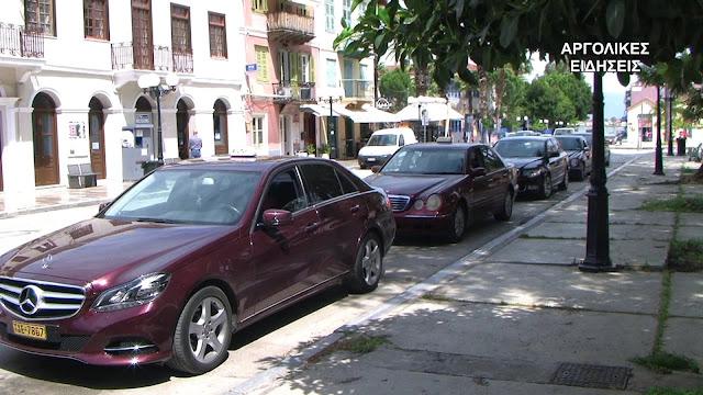 Πως βιώνουν την εποχή του κορωνοϊού οι επαγγελματίες οδηγοί ταξί στο Ναύπλιο (βίντεο)