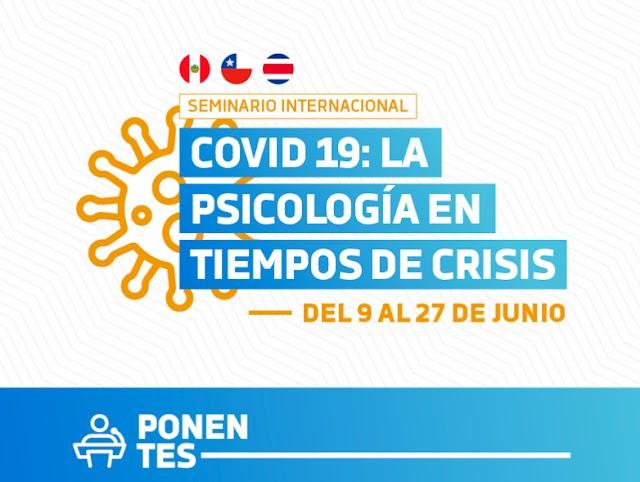 SEMINARIO UCV: PSICOLOGÍA EN TIEMPOS DE CRISIS