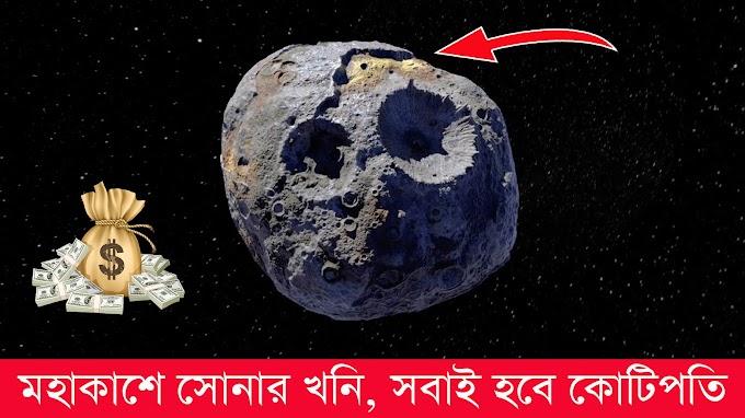 সোনার গ্রহাণু  খুঁজে পেল নাসা, এক একটি টুকরোর মূল্য হবে কয়েকশো কোটি টাকা! Cute Bangla