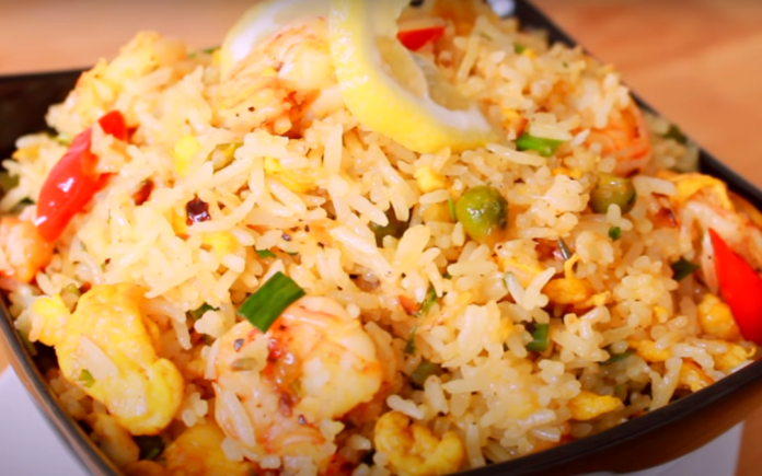 How to Cook Prawn Rice