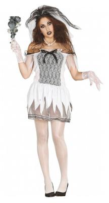 halloween dames kostuum dode bruid