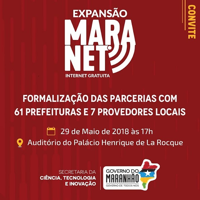 Internet Gratuita: Chapadinha é contemplada com o programa Maranet do Governo do estado.