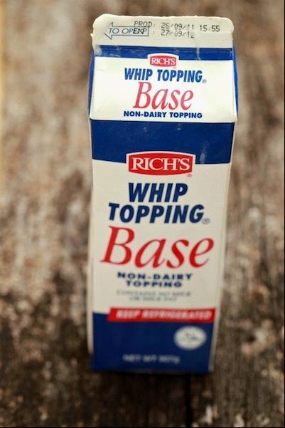 Info lengkap whipping cream dan cara beza whipping cream non dairy dengan dairy