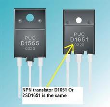 Contoh tipe transistor Horizontal