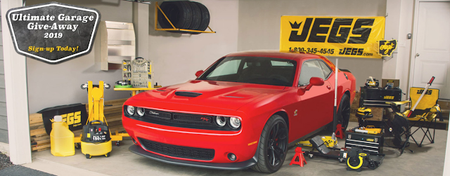 Jegs is giving one lucky winner over 30 JEGS Brand tools and accessories to equip their garage. Everything from hand tools, to jacks, to engine stands and many items in between, to make your next project a whole lot easier and organized.
