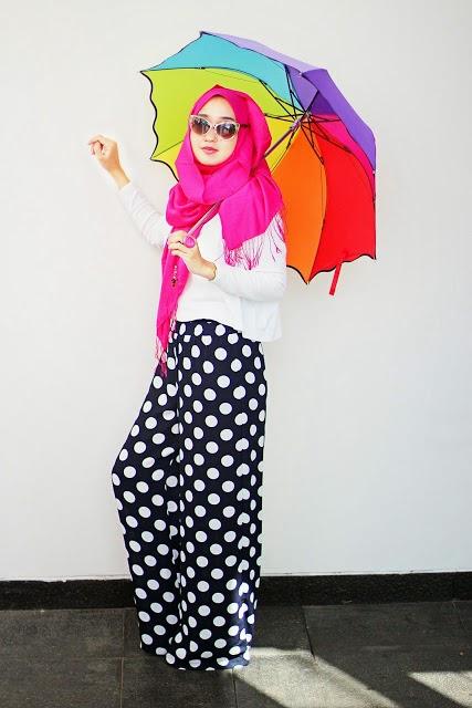 Trend Desain Fashion Baju Muslim Gaul Terpopuler