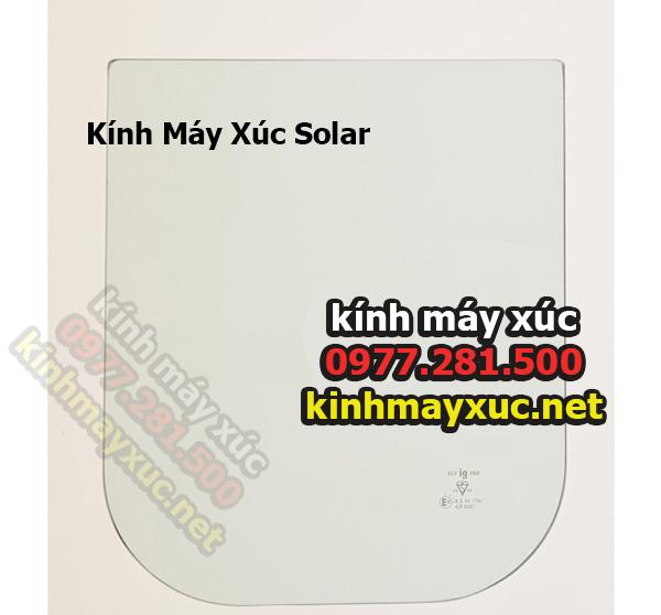 Kính Máy Xúc Solar, Kính Máy Xúc Deawoo, Lắp Đặt Kính Máy Xúc